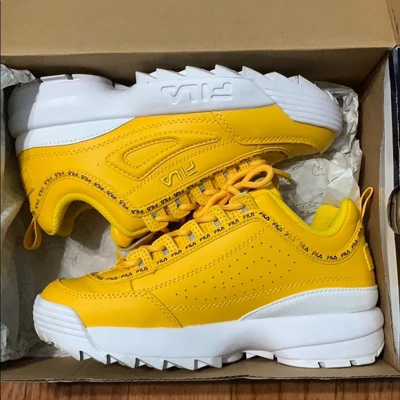 FILA Disruptor 2 Premium Athletic Shoe NWT